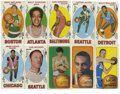 "Basketball Cards:Lots, 1969-71 Topps Basketball Group Lot of 46. Popular ""tall boy"" Toppsbasketball card group includes forty-two cards from the 1..."