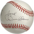Autographs:Baseballs, Jack Brickhouse Single Signed Baseball. Long-time announcer ofWorld Series games and the Chicago Cubs and White Sox, Jack ...