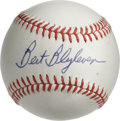 Autographs:Baseballs, Bert Blyleven Single Signed Baseball. Two-time All-Star andcurveball wizard Bert Blyleven has penned an exceptional sweet ...