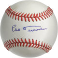 Autographs:Baseballs, Leo Durocher Single Signed Baseball. Pristine single from Hall ofFame manager Leo Durocher. LOA from PSA/DNA....