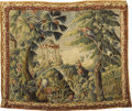 Rugs & Textiles:Tapestries, 18th Century Chinoisiere Tapestry. 18th Century. Silk, wool. 89inches x 112 inches...