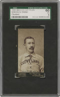 Baseball Cards:Singles (Pre-1930), 1895 Mayo's Cut Plug N300 Buck Ewing SGC EX 60. Widely consideredto be the greatest player of the 19th century, Ewing is l...