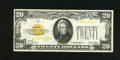 Small Size:Gold Certificates, Fr. 2400 $20 1928 Gold Certificate. Very Fine.. This $20 Gold has a clear orange third printing and original surfaces. One b...