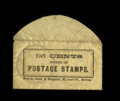 Encased Postage: , Postage Stamp Envelope 25¢ Snow & Hapgood Boston ExtremelyFine. Listed in the Krause and Lemke book as KL130-25. This isan...