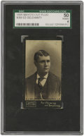 Baseball Cards:Singles (Pre-1930), 1895 Mayo's Cut Plug N300 Ed Delehanty SGC VG/EX 50. Eight yearsafter his appearance on this early tobacco issue, Hall of ...