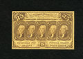 Fractional Currency:First Issue, Fr. 1281 25c First Issue Choice About New. A faint center bend is noticed....