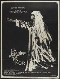 "The Bride Wore Black (MGM, 1968). French Grande (47"" X 63""). Mystery"