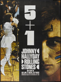 "5 + 1 (C.C.F.C., 1970). French Grande (46"" X 63""). Rock and Roll"