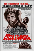 """Movie Posters:Action, The Cycle Savages (Trans American, 1970). One Sheet (27"""" X 41""""). Action...."""