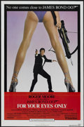 "Movie Posters:James Bond, For Your Eyes Only (United Artists, 1981). One Sheet (27"" X 41""). James Bond...."