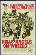 "Movie Posters:Cult Classic, Hells Angels on Wheels (Fanfare, 1967). One Sheet (27"" X 41""). CultClassic...."