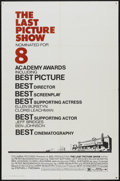"""Movie Posters:Drama, The Last Picture Show (Columbia, 1971). One Sheet (27"""" X 41"""") Academy Awards Style. Drama...."""