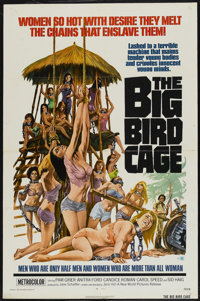 """The Big Bird Cage (New World, 1972). One Sheet (27"""" X 41""""). Action"""