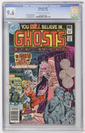 Modern Age (1980-Present):Horror, Ghosts #87 (DC, 1980) CGC NM+ 9.6 Off-white to white pages....