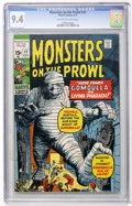 Bronze Age (1970-1979):Horror, Monsters on the Prowl #12 (Marvel, 1971) CGC NM 9.4 Off-white towhite pages....