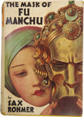 Books:First Editions, Sax Rohmer. The Mask of Fu Manchu. Garden City, New York:Doubleday, Doran and Company, Inc., 1932....