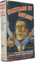 Books:First Editions, Christine Campbell Thomson, ed. Nightmare By Daylight.London: Selwyn and Blount [n.d., 1937]....