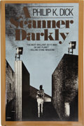Books:First Editions, Philip K. Dick. A Scanner Darkly. Garden City, New York:Doubleday and Company, Inc., 1977....