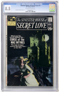 Bronze Age (1970-1979):Romance, Sinister House of Secret Love #1 (DC, 1971) CGC VF+ 8.5 Off-whiteto white pages....