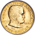 Commemorative Gold, 1922 G$1 Grant with Star MS67 PCGS. CAC....