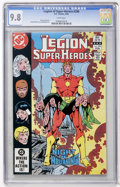 Modern Age (1980-Present):Science Fiction, Legion of Super-Heroes #296 (DC, 1983) CGC NM/MT 9.8 Whitepages....