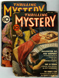 Pulps:Detective, Thrilling Mystery Group (Standard, 1935-39)....