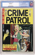 Golden Age (1938-1955):Crime, Crime Patrol #16 Gaines File pedigree (EC, 1950) CGC NM 9.4 Off-white to white pages....