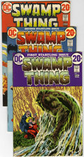 Bronze Age (1970-1979):Horror, Swamp Thing Group (DC, 1972-74) Condition: Average FN+.... (Total:8 Comic Books)