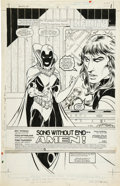 Original Comic Art:Splash Pages, Todd McFarlane and Tony DeZuniga - Infinity Inc. #15 Original Art(DC, 1985). ...
