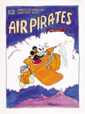 Original Comic Art:Covers, Dan O'Neill - Air Pirates Funnies #1 Cover Recreation Original Art(2003)....