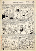 Original Comic Art:Panel Pages, Al Plastino - Action Comics #332 Superman page 2 Original Art (DC,1966).. ...