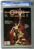Magazines:Miscellaneous, Marvel Comics Super Special #21 Conan the Barbarian (Marvel, 1982)CGC NM+ 9.6 White pages....