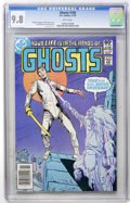 Modern Age (1980-Present):Horror, Ghosts #106 (DC, 1981) CGC NM/MT 9.8 White pages....