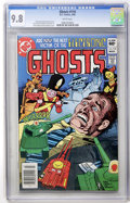 Modern Age (1980-Present):Horror, Ghosts #110 (DC, 1982) CGC NM/MT 9.8 White pages....