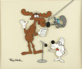animation art:Limited Edition Cel, Bullwinkle, Rocky, and Mr. Peabody Limited Edition Cel (Jay Ward,undated)....