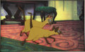 """Animation Art:Production Cel, """"Lady and the Tramp"""" Si and Am Production Cel Original Art (Walt Disney, 1955). ..."""