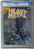 Magazines:Science-Fiction, Heavy Metal #1 (HM Communications, 1977) CGC NM 9.4 White pages....