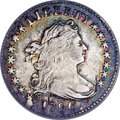 Early Dimes, 1796 10C --Cleaned, Defective Planchet--ANACS. VF30 Details....
