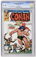 Modern Age (1980-Present):Miscellaneous, Conan the Barbarian #108 (Marvel, 1980) CGC NM/MT 9.8 White pages....