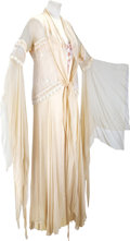 Movie/TV Memorabilia:Costumes, Nolan Miller Designed Dressing Gown and Negligee with a Double,Worn by Yvette Mimieux in her Role as Natacha Rambova in The...(Total: 1 Item)
