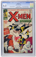 Silver Age (1956-1969):Superhero, X-Men #1 (Marvel, 1963) CGC FN+ 6.5 Cream to off-white pages....