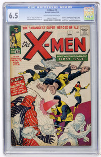 X-Men #1 (Marvel, 1963) CGC FN+ 6.5 Cream to off-white pages