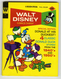 Bronze Age (1970-1979):Cartoon Character, Walt Disney Comics Digest #44 Signed by Carl Barks (Gold Key, 1971)Condition: NM....