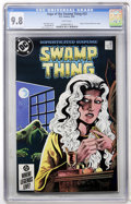 Modern Age (1980-Present):Horror, Swamp Thing #33 (DC, 1985) CGC NM/MT 9.8 White pages....