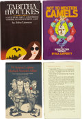Books:First Editions, Four Fantasy First Editions from the 1970s, including: S. BeachChester [pseudonym for Philip Jose Farmer]. The Arse... (Total:4 Items)