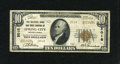 National Bank Notes:Pennsylvania, Spring City, PA - $10 1929 Ty. 2 The NB & TC Ch. # 2018. ...