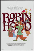 "Movie Posters:Animated, Robin Hood (Buena Vista, R-1982). One Sheet (27"" X 41""). Animated...."