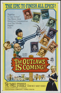 "The Outlaws is Coming (Columbia, 1965). One Sheet (27"" X 41""). Comedy"