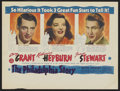 "Movie Posters:Romance, The Philadelphia Story (MGM, 1940). Australian Herald (8.5"" X 11.25""). Romance...."