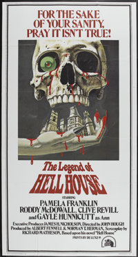 "The Legend Of Hell House (20th Century Fox, 1973). Three Sheet (41"" X 77""). Horror"